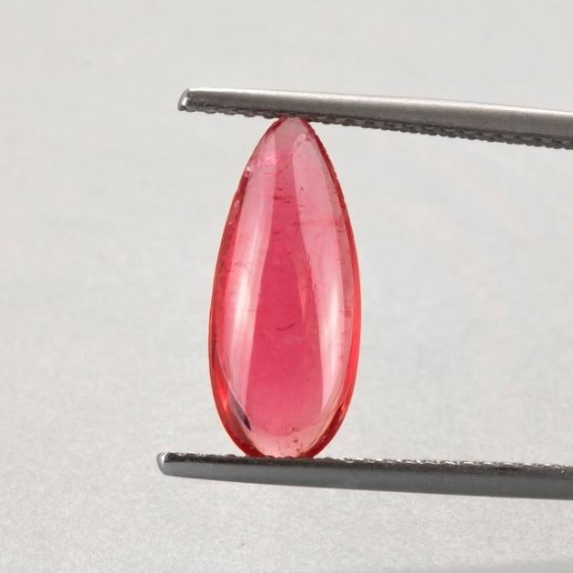 2.60ct Pear Shape Cabochon Gem Quality Rhodonite (Extremely Rare)