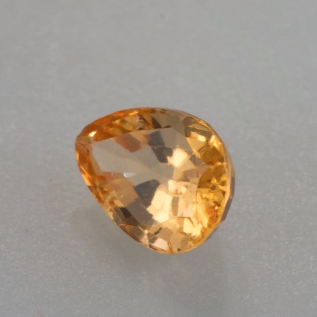 2.80ct Pear Cut Mandarin Garnet
