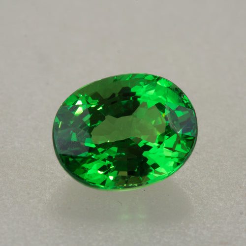 Top Grade 2.03ct Oval Cut Tsavorite Garnet