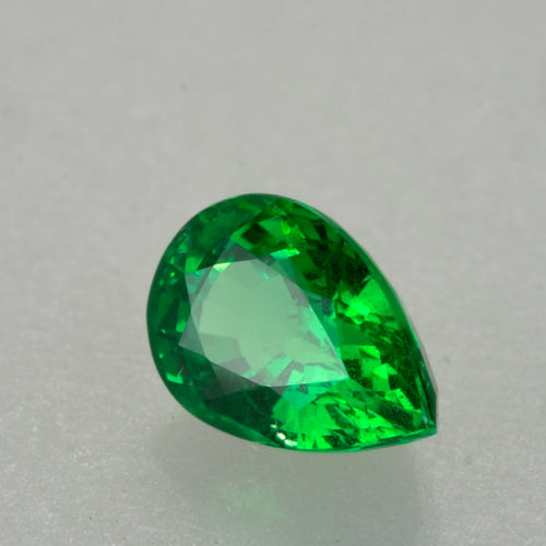 Top Grade 2.10ct Pear Cut Tsavorite Garnet