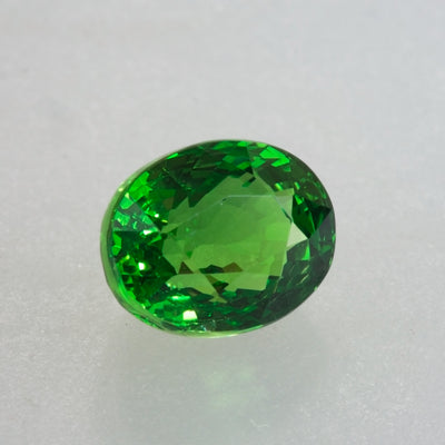 Top Grade 2.07ct Oval Cut Tsavorite Garnet