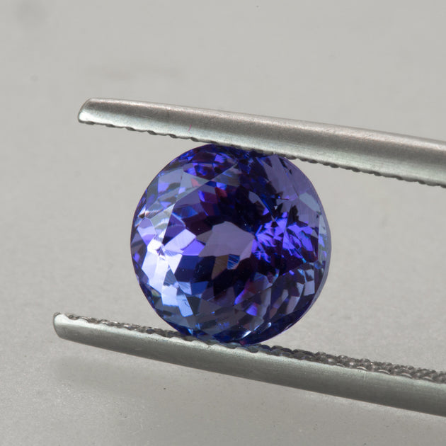 2.49ct Round Cut Tanzanite