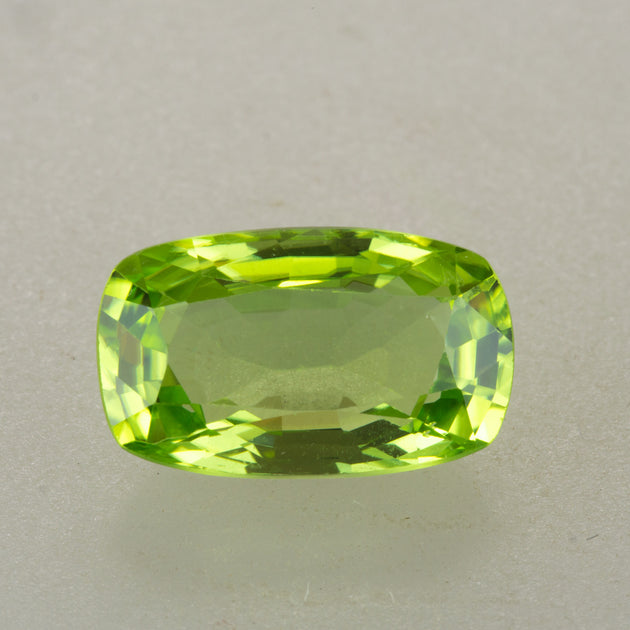 4.04ct Rectangular Cushion Cut Burmese Peridot