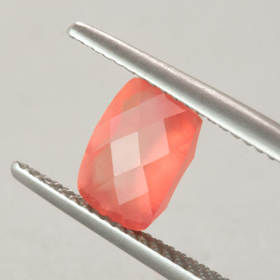 1.99ct Checkerboard Cushion Cut Gem Quality Rhodochrosite