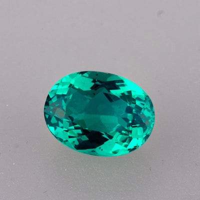 4.09ct Apatite Oval Cut