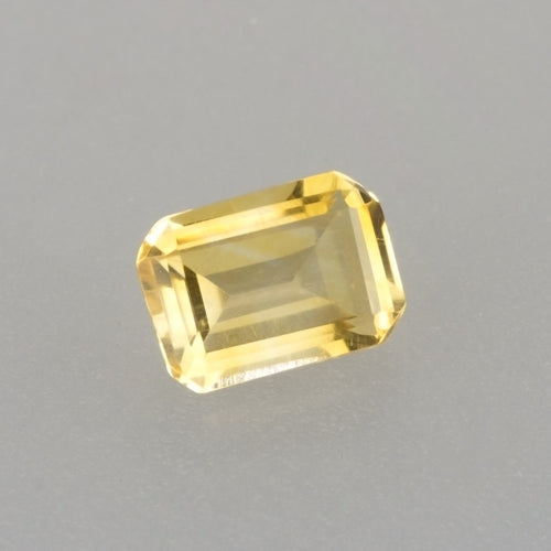 7x5mm Citrine Calibrated Emerald Cut