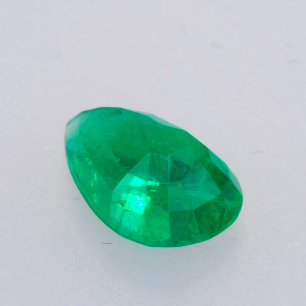 2.73ct Pear Cut Columbian Emerald