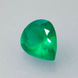2.33ct Pear Cut Colombian (Muzo Mine) Emerald