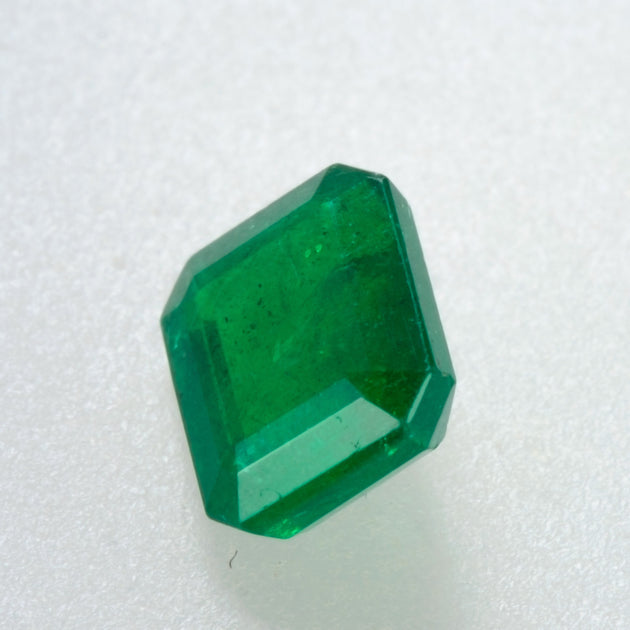 1.54ct Emerald Cut Zambian Emerald