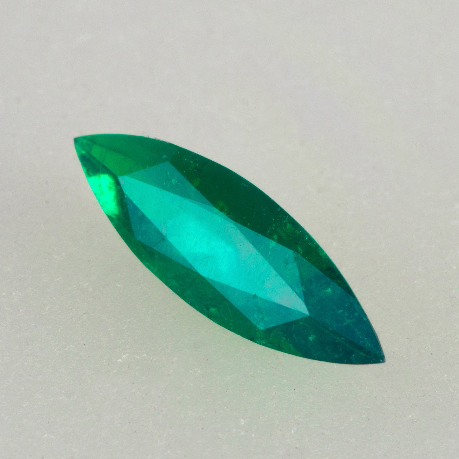 0.96ct Marquise Cut Colombian Emerald