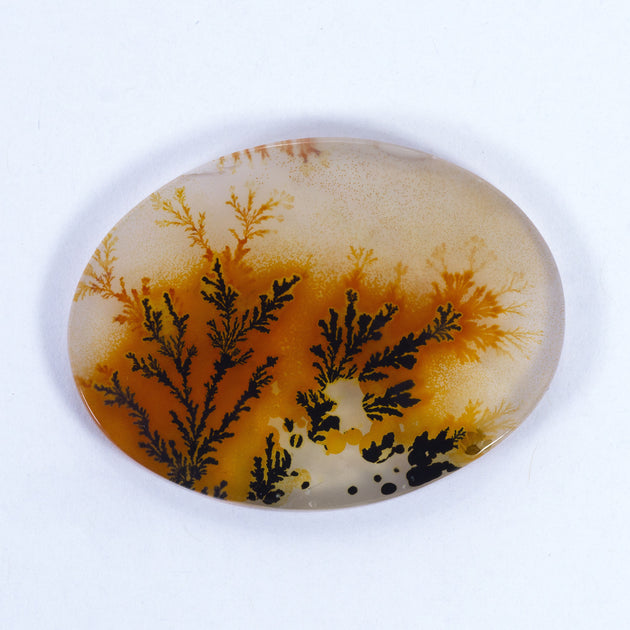 31x23mm Top Grade Indian Picture Agate