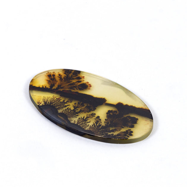 32x19mm Top Grade Indian Picture Agate