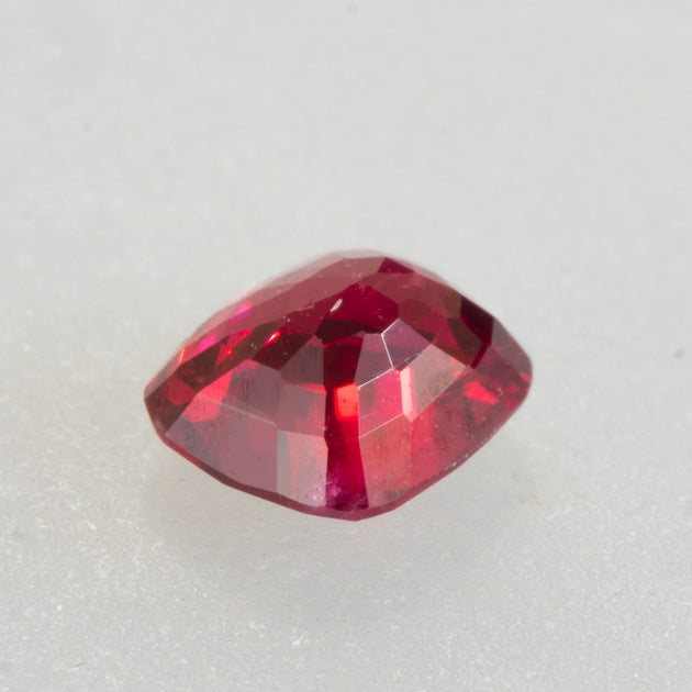 0.81ct Red Cushion Cut Spinel