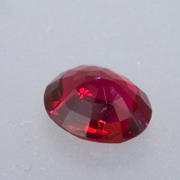 0.75ct Red Oval Cut Spinel