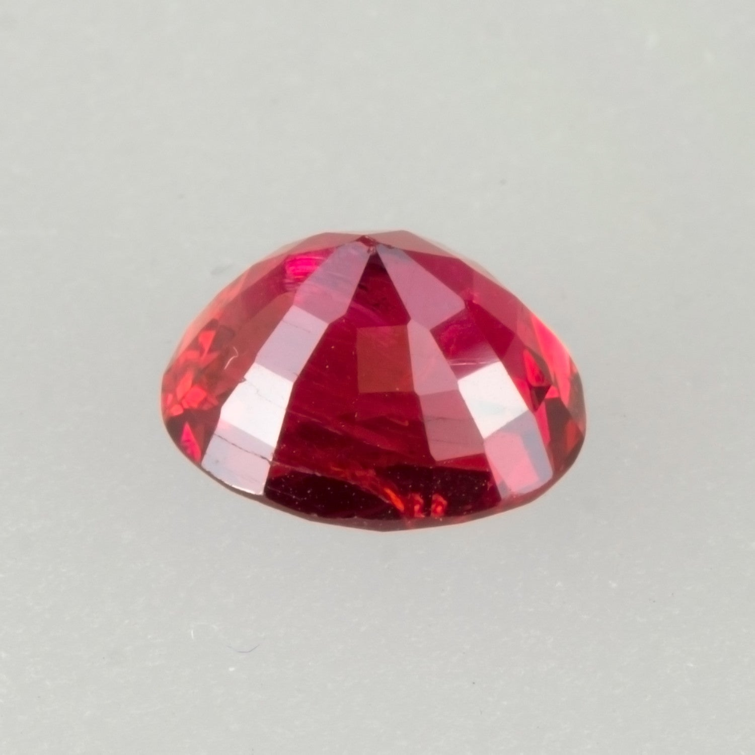 2.21ct Top Red Oval Cut Spinel