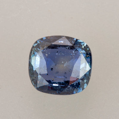 Collector's Unheated 4.56ctct Square Cushion Cut Blue Sapphire