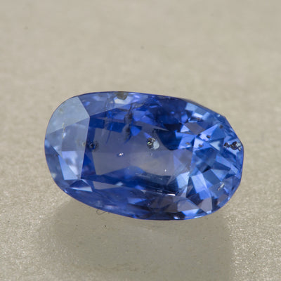 "Unheated 2.01ct Gemmologist's Choice ""Floating Crystal"" Oval Cut Sapphire"