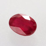 1.16ct Oval Cut Ruby,natural unheated ruby, ruby birthstone for July, Mozambique ruby