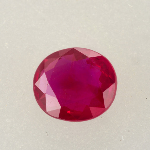 1.11ct Oval Cut Ruby