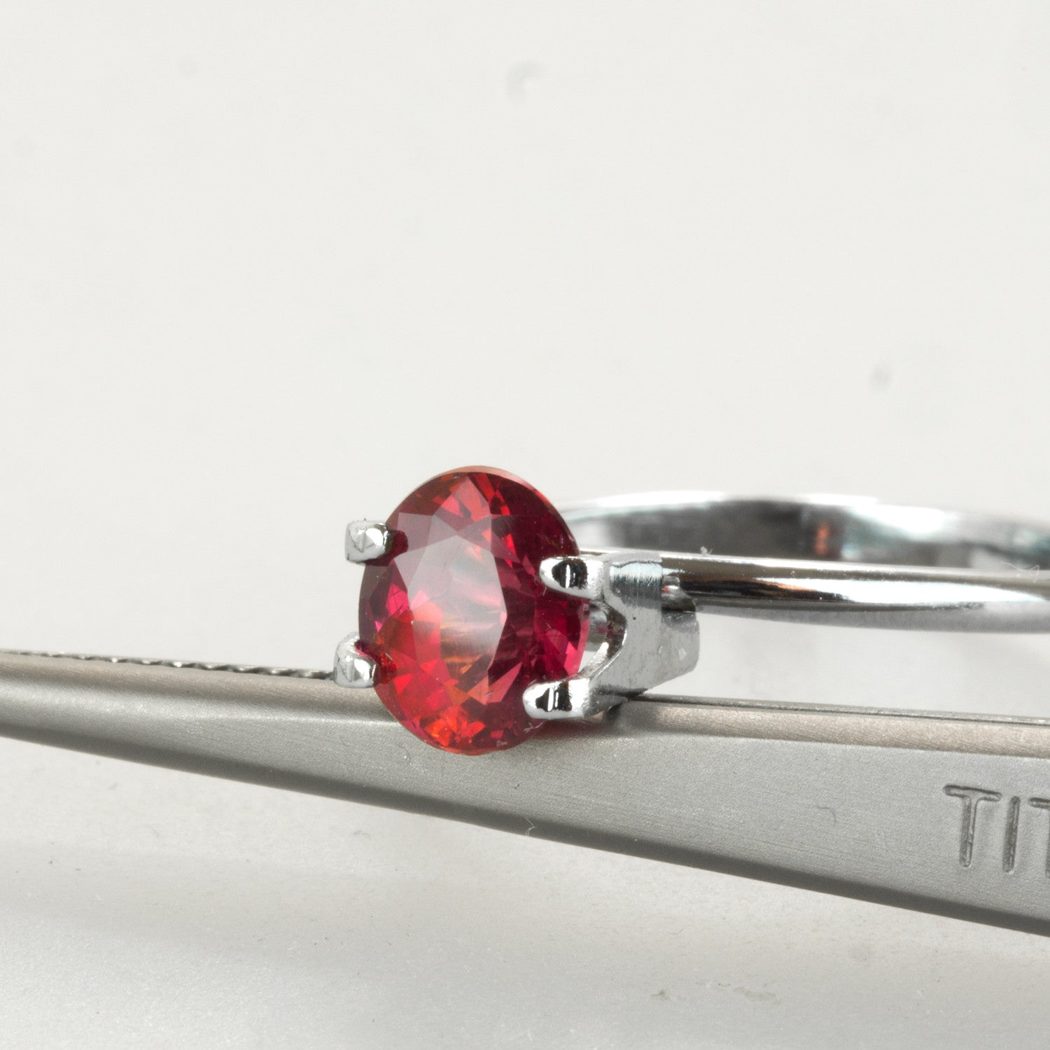 Unheated 1.56ct Oval Cut Ruby