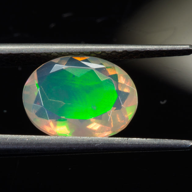 1.00ct Oval Cut Ethiopian Opal