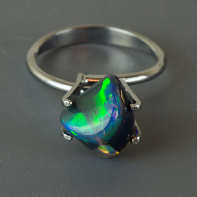 2.86ct Free-Form Australian Black Opal