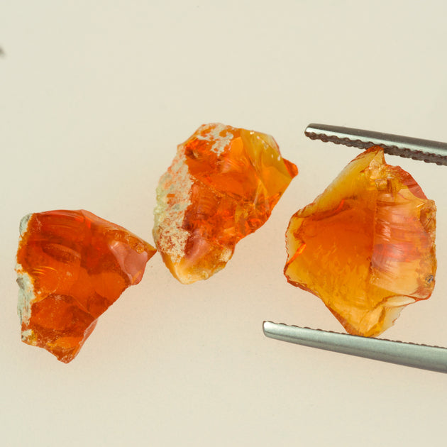 Mexican Fire Opal Parcel (7.16ct)
