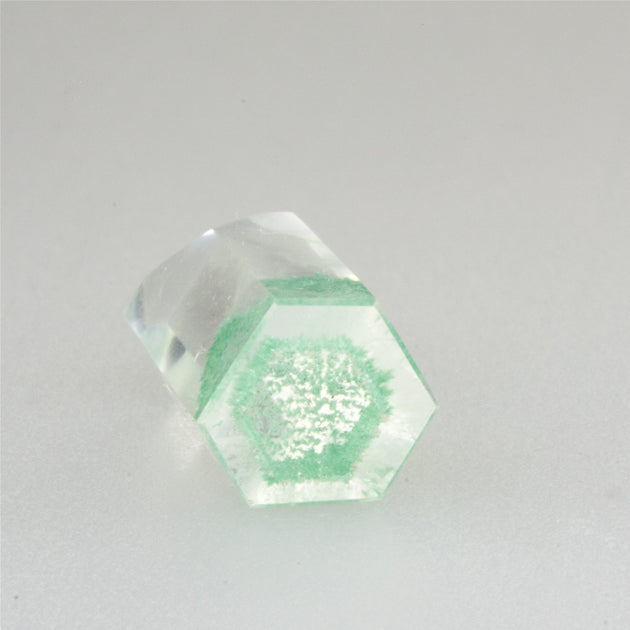 Green Fuschite Quartz Phantom Crystal