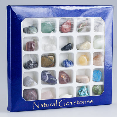 Natural Gemstone Box Set