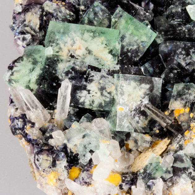 Fluorite Garden Display Specimen