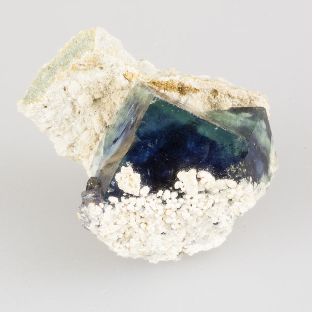 Fluorite Cube in Matrix Specimen