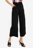 Haniela Wide Leg Pants in Black