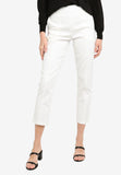 Cheilyn High Waist Pants In White