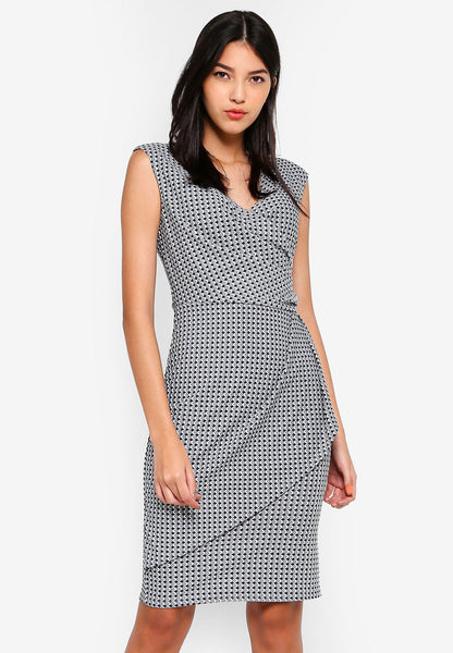 Mymana Ruch Midi Dress