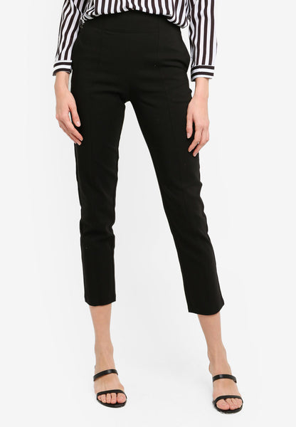Cheilyn High Waist Pants In Black