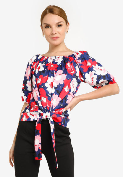 JULY Women Floral Print Blouse