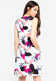Elseth Sleeveless Printed Midi Dress