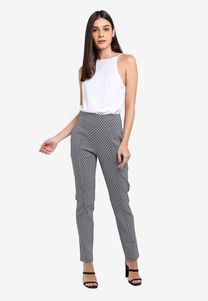 Heizie High Waist Texture Pants