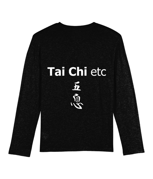 Organic 'Tai Chi etc' Long Sleeved Tee Shirt