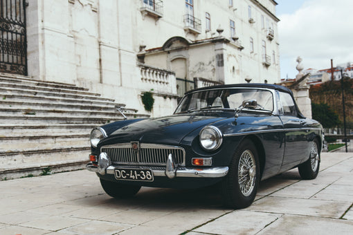 MGB British Racing Green Crédit photo : Robin Vet @robinvet