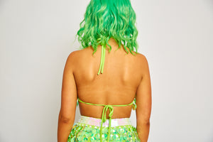 Lime Interstellar Bra