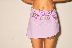butterfly skirt, mini skirt, purple, dress up, halloween, doof, edc, coachella, festival fashion