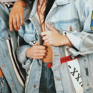 '-cide denim jacket -xx-