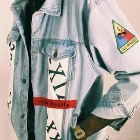 -cide Designer Denim Jacket