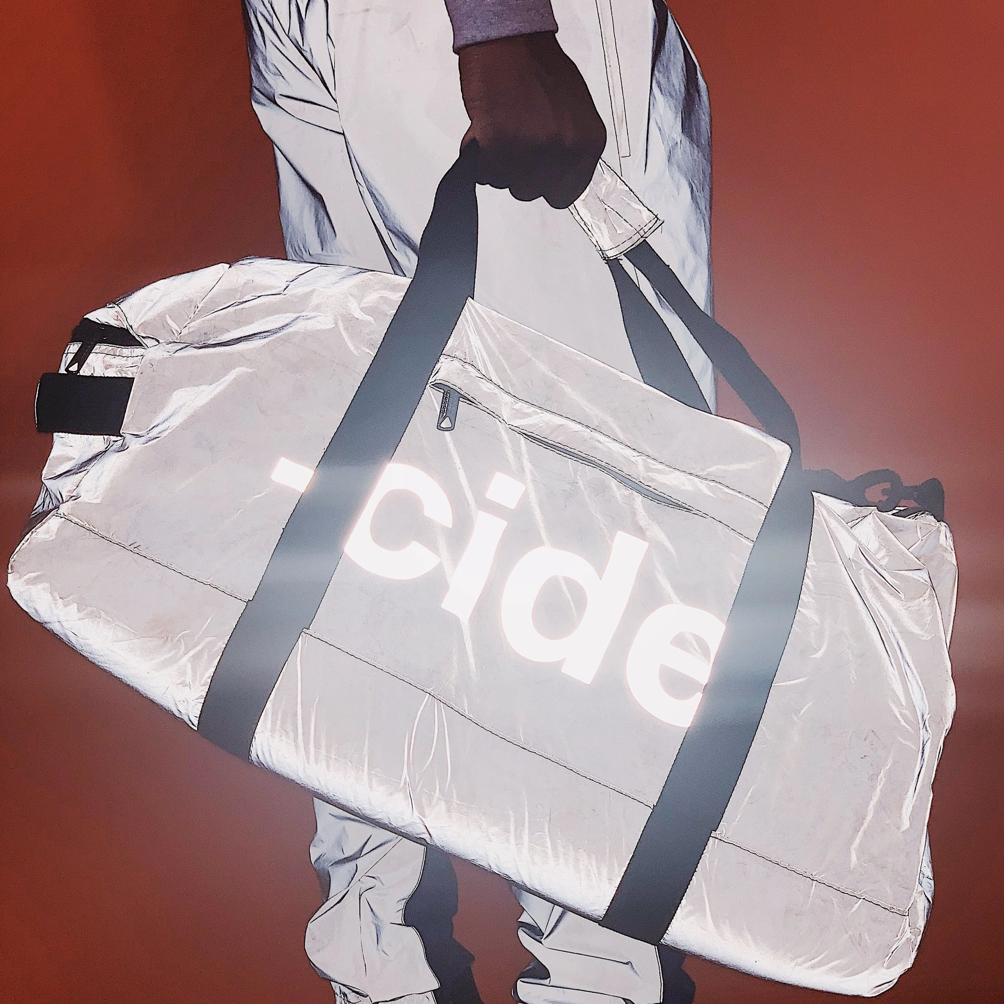 -cide Reflective Duffel Bag
