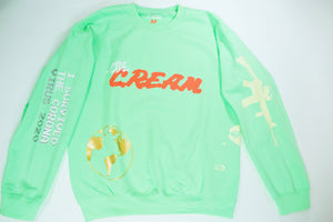 -cide earth day sweatshirt