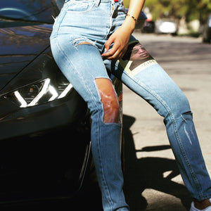 -cide Colored Jeans for Women
