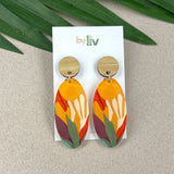 Bright rainbow dangles