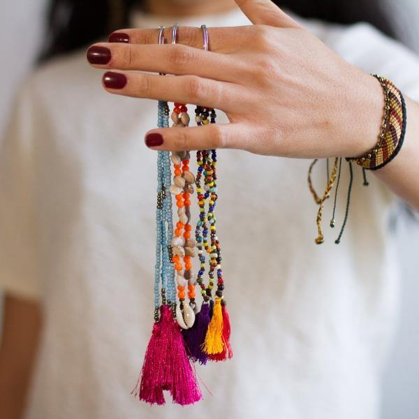 Farida Key Chains / Tassels
