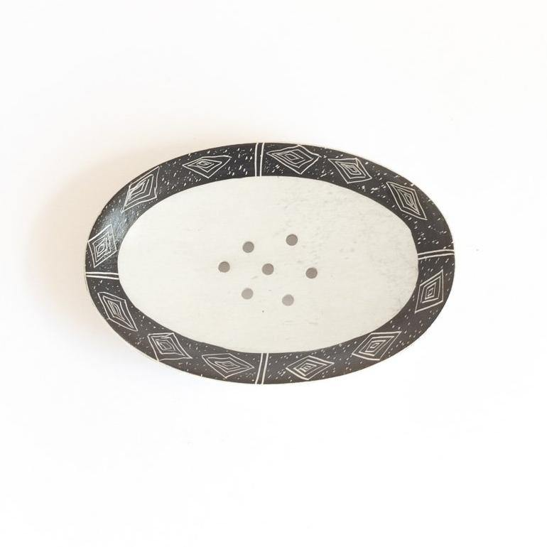 Lucy Soapstone Soap Dish